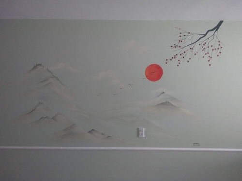 murales naturaleza casas/comercios