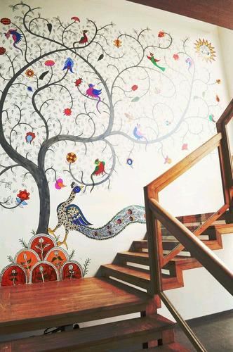 murales pintados a mano