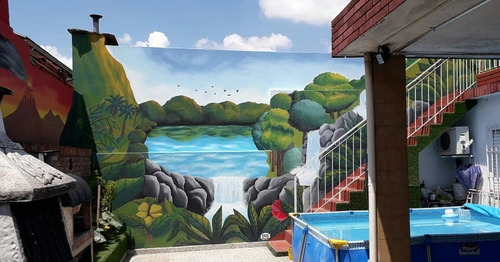 muralismo exterior / interior. ( local, casa, oficina, etc)