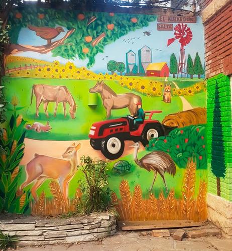 muralista murales personalizados pintor