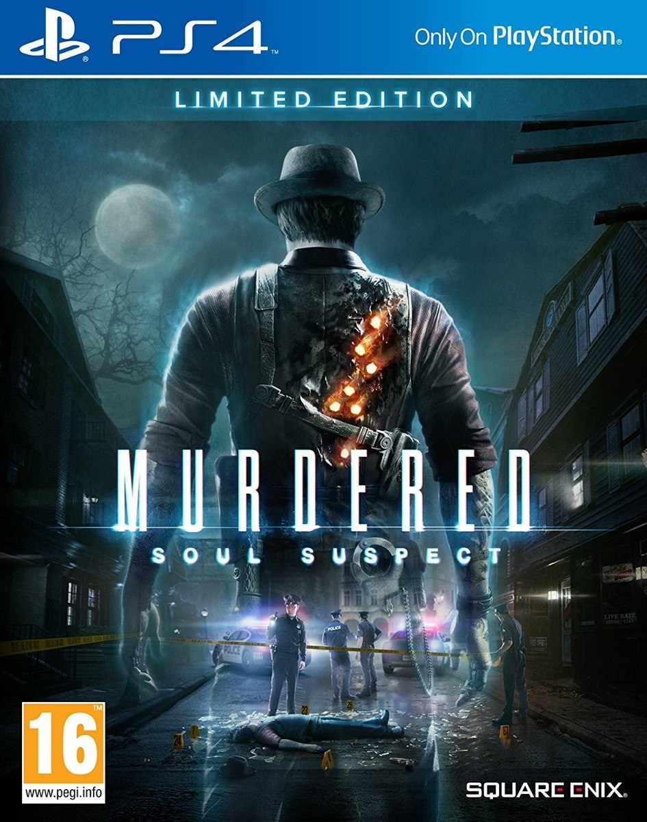 Murdered Soul Suspect Ps4 Digital No Necesita Internet S 30 00