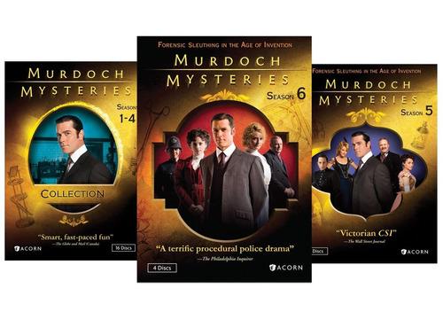 murdoch mysteries bundle package 24 discos en dvd