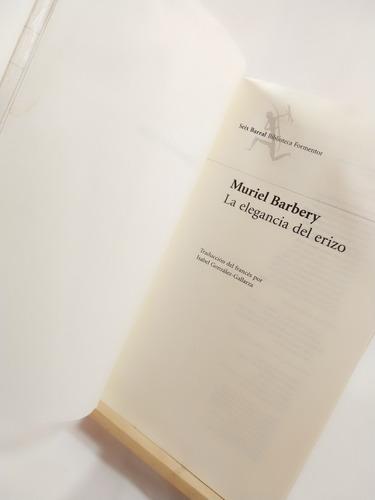 muriel barbery: la elegancia del erizo