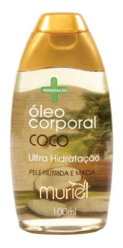 muriel coco óleo corporal 100ml