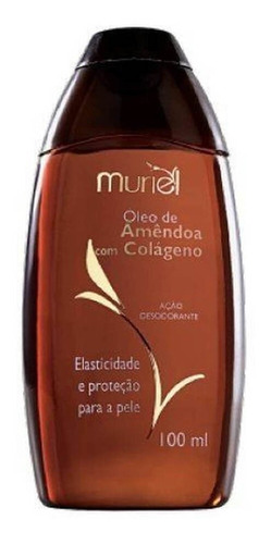 muriel óleo corporal amêndoas e colágeno 100ml