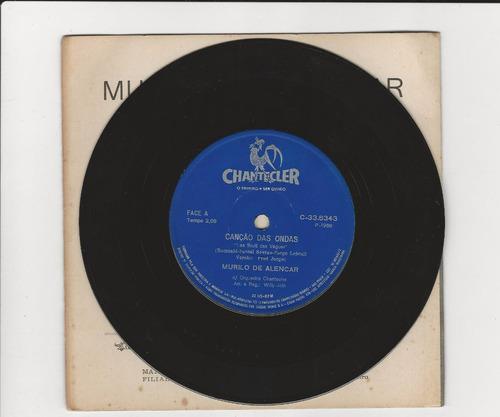 murilo de alencar 1968 canção das ondas - compacto ep 13