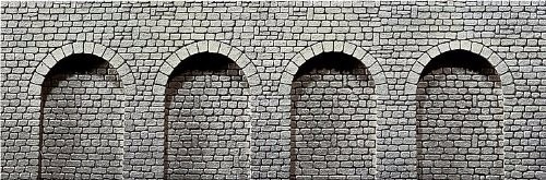 muro de arrimo p/ maquete frateschi ho 1/87 hbm306