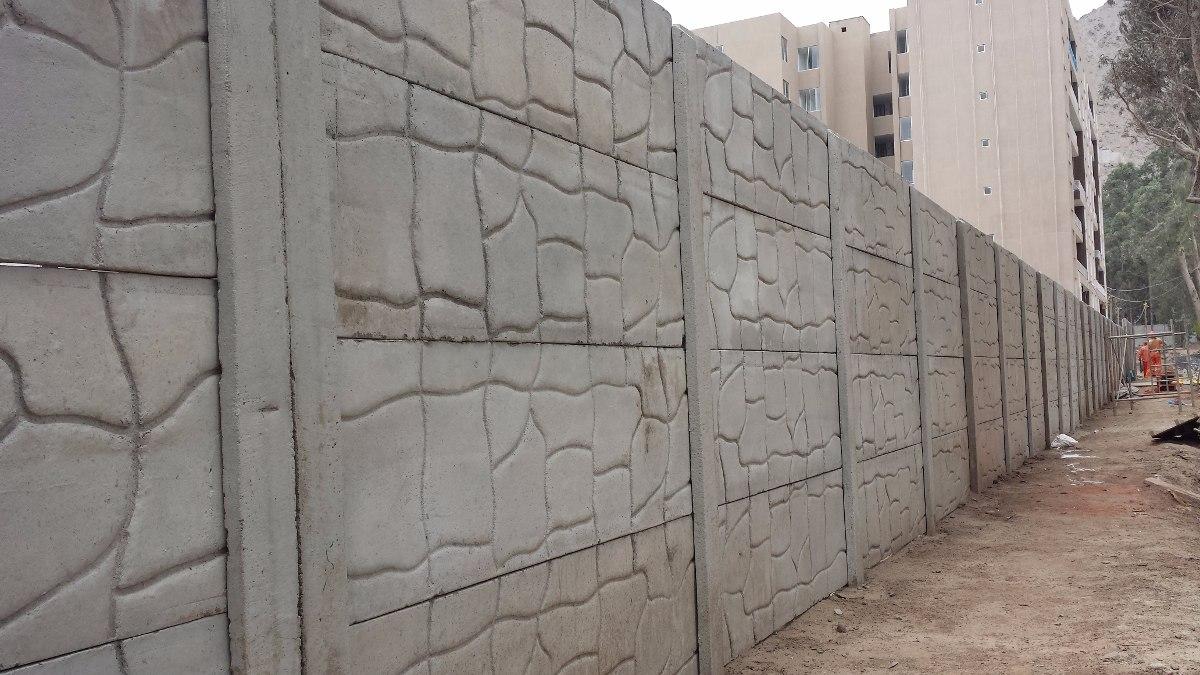 Muro prefabricado de concreto s 85 00 en mercado libre - Muros de hormigon ...