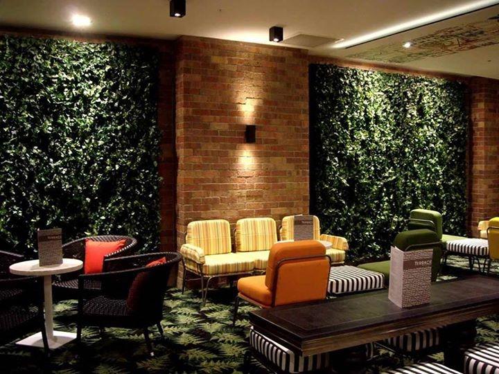 Muro verde enredadera artificial para malla sp0 for Verde vertical jardines verticales