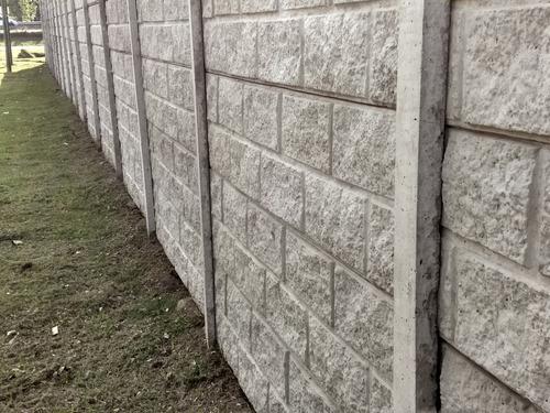 muros-cercos de hormigon premoldeado
