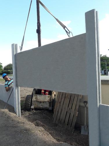 muros perimetrales premoldeados