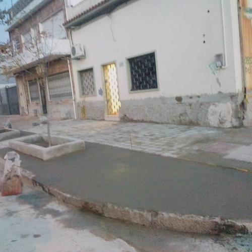 muros perimetrales reparación veredas construcción en gral