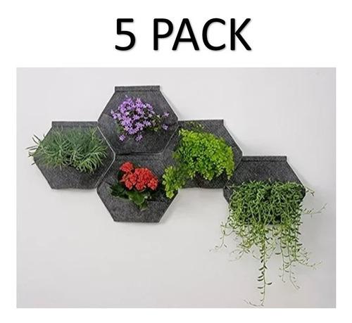 muros verdes geotextil jardin vertical natural 5 pack