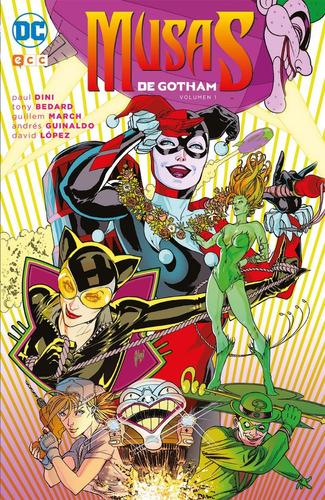 musas de gotham vol.01 batman - dc ecc comics - robot negro