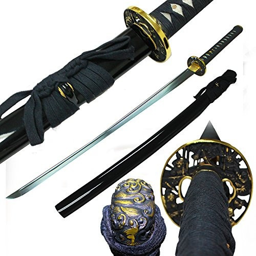 musashi - 1060 acero al carbono  samurai espada b12