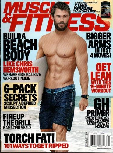muscle & fitness magazine - revista de bem estar e saude