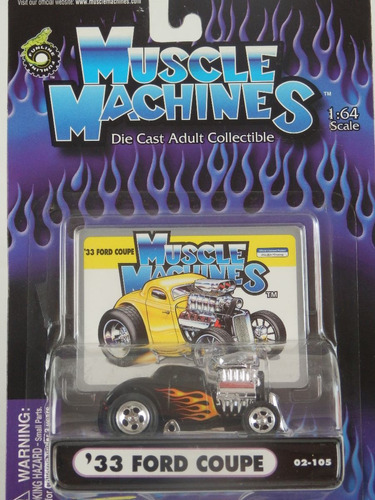 muscle machines - ford coupe 33 ref 02-105