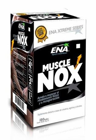 muscle nox 180 ena oxido nitrico creatina arginina citrulina