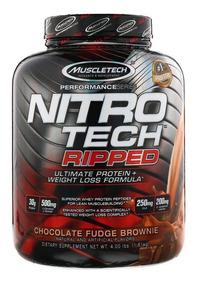 nowy styl życia tani najlepiej sprzedający się Muscletech Nitro Tech Ripped 4lbs