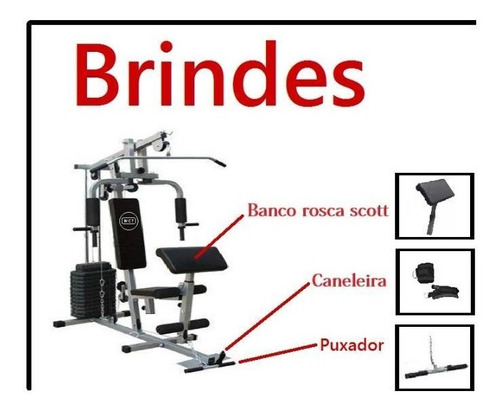 musculação aparelho estação