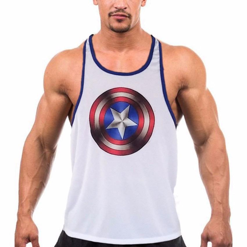 Carregando zoom... camiseta regata cavada masculina academia musculação  fitness 6db6021239e