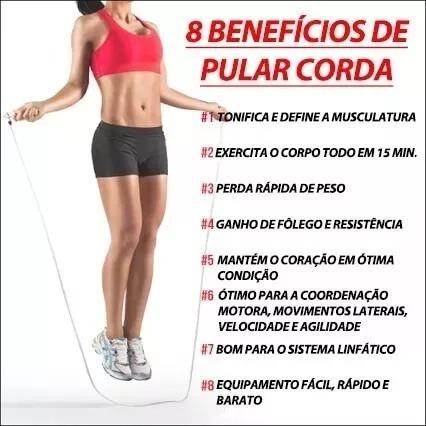 Corda De Pular Simples Em Pvc Musculação Funcional Academia - R  21 ... 16811395b9a56