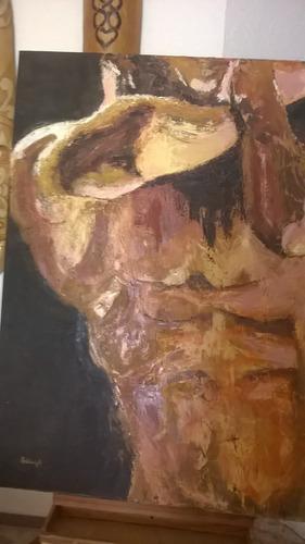 musculos  óleo sobre lienzo de ashleigh   precio nuevo