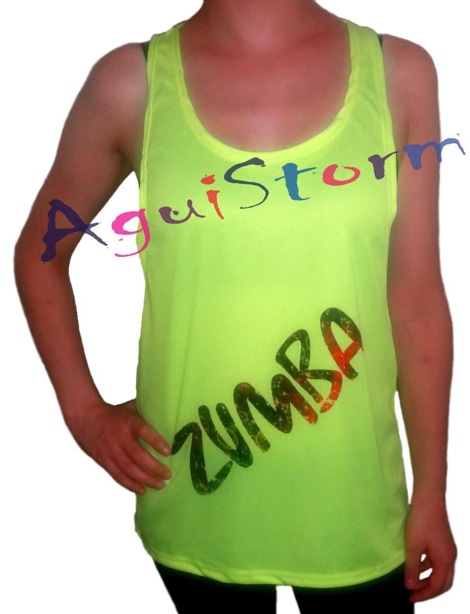 Musculosa Abierta Para Zumba - Personalizada Con Tu Diseño!! -   190 ... b2cd0e00d31e7