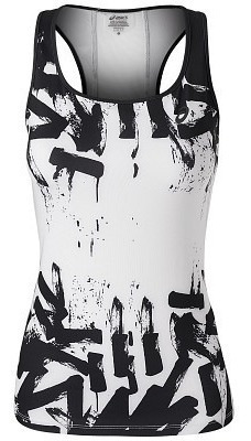 musculosa asics fitted tank