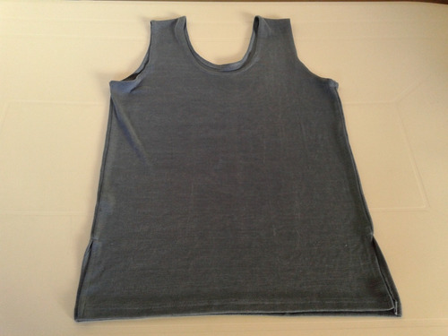 musculosa azul petroleo talle l impecable!