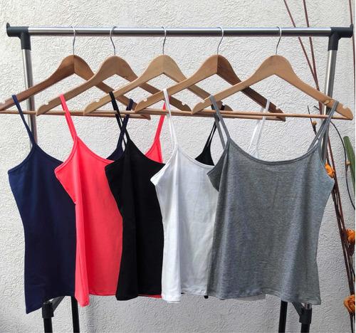 musculosa básica algodón + lycra - julia* chuva ropa