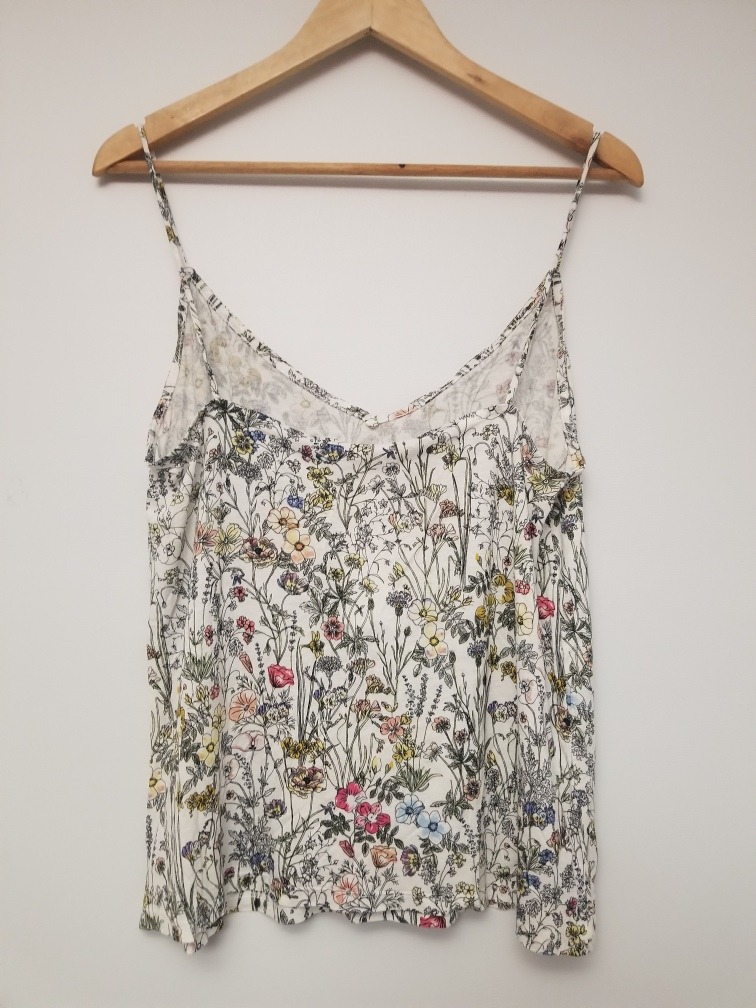 a2da5dee9bf musculosa blusa h m nueva m flores verano fresca importada. Cargando zoom.