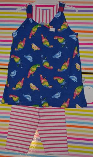 musculosa + calza pachi 3 modelos 9-18 meses little treasure