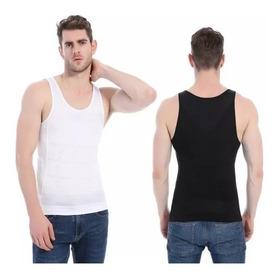Musculosa Camiseta Reductora Modeladora Hombre Abdominal
