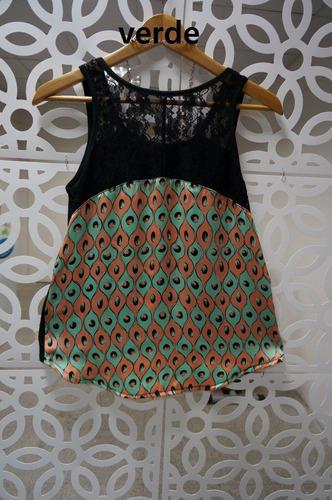 musculosa de moda con espalda de seda  sz012 venta por mayor