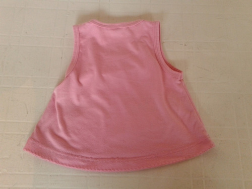 musculosa de nena rosa talle 2