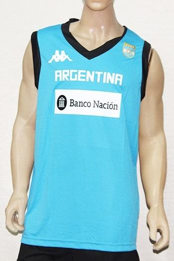 716ea1d971372 Musculosa Entrenamiento Cabb Argentina Kappa Basquet Basket -   499 ...