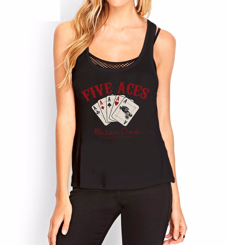 musculosa  five ases inkpronta