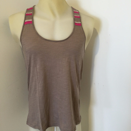 musculosa forever 21 vison y rosa