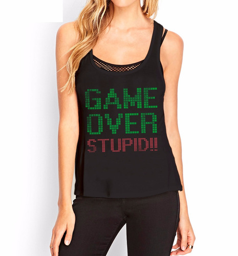 musculosa  game over inkpronta