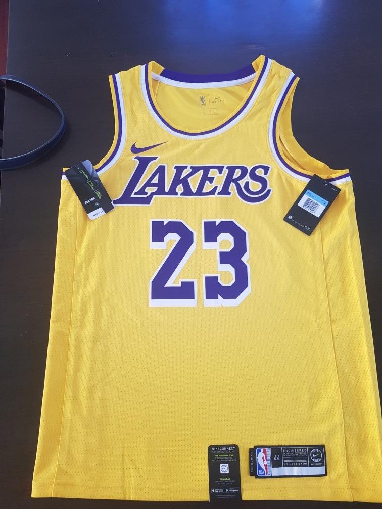 huge selection of 23360 707b2 Musculosa Jersey Lakers Lebron James Swingman Nike Nba