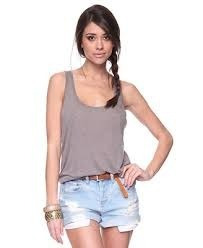 musculosa modal forever 21