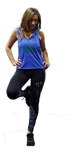 musculosa  mujer con capucha art 6216
