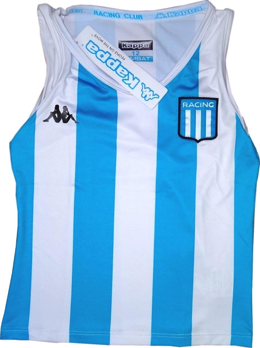 42b24a4fc67ad Musculosa Racing Club Avellaneda Hockey Niñas Titular Kappa -   899 ...