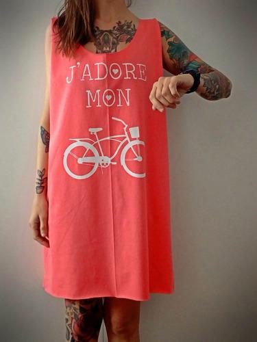 musculosa sudadera larga estampada de diseño bicicleta