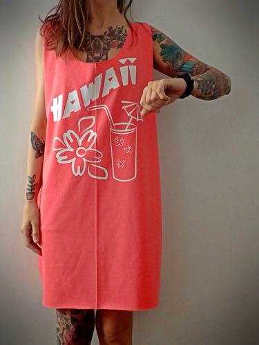 musculosa sudadera larga estampada de diseño hawaii