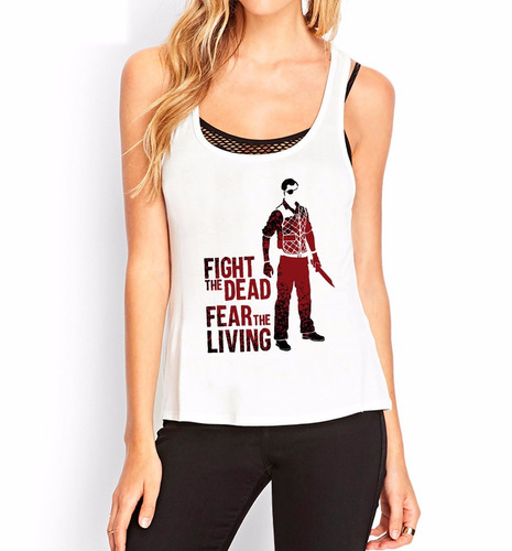 musculosa the walking dead4  inkpronta