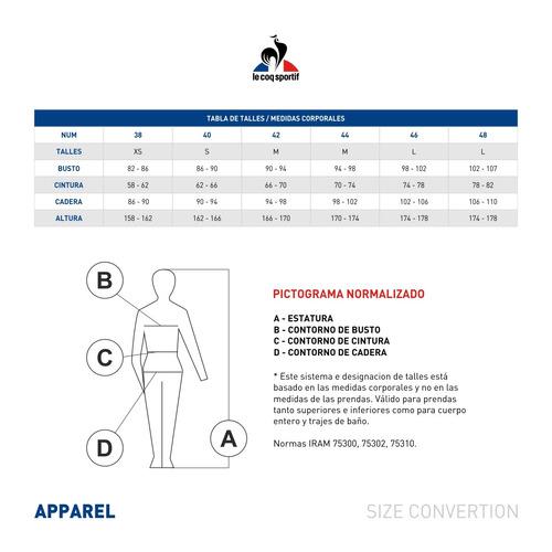 musculosale coq sportif sport sweatshirt w mujeres