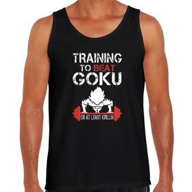 Musculosas Gym Gimnasio Goku Vegeta He Man | Dee Hoy No Pasa