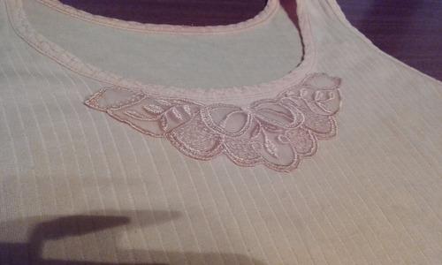 musculosas para dama usadas de algodon talle l por lote!!!